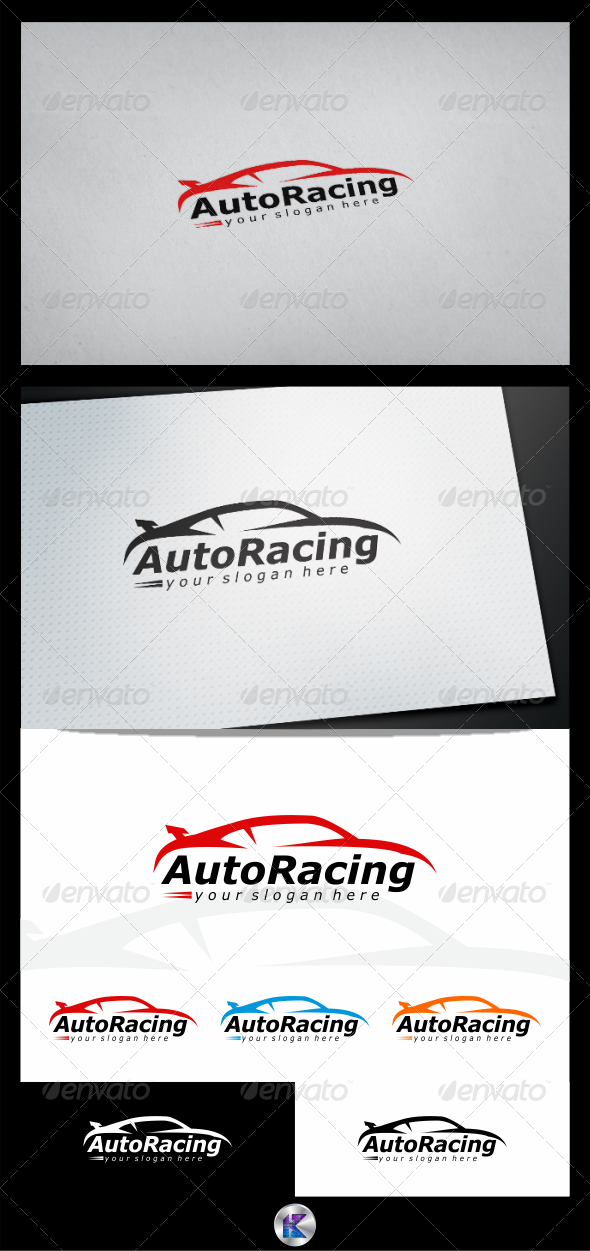 Automotive Logo Template - Objects Logo Templates