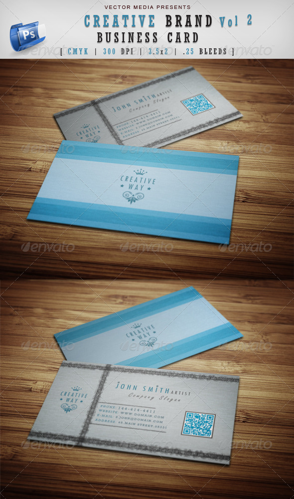 Creative Brand - Business Card [Vol.2] - Creative Business Cards
