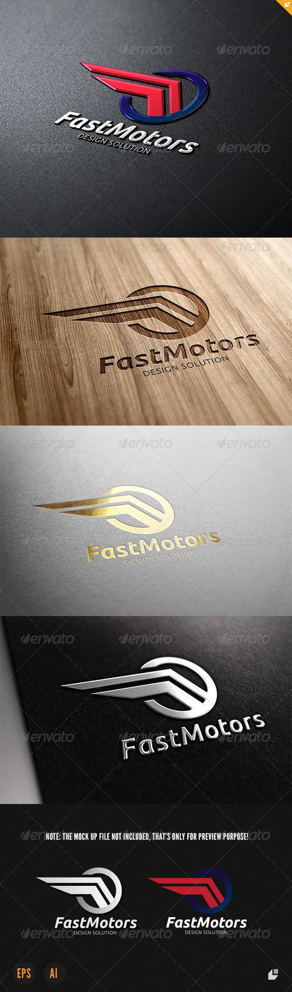 Fast Motors Logo - Vector Abstract