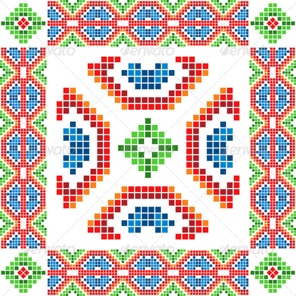 Ethnic Abstract Ornaments - Abstract Conceptual