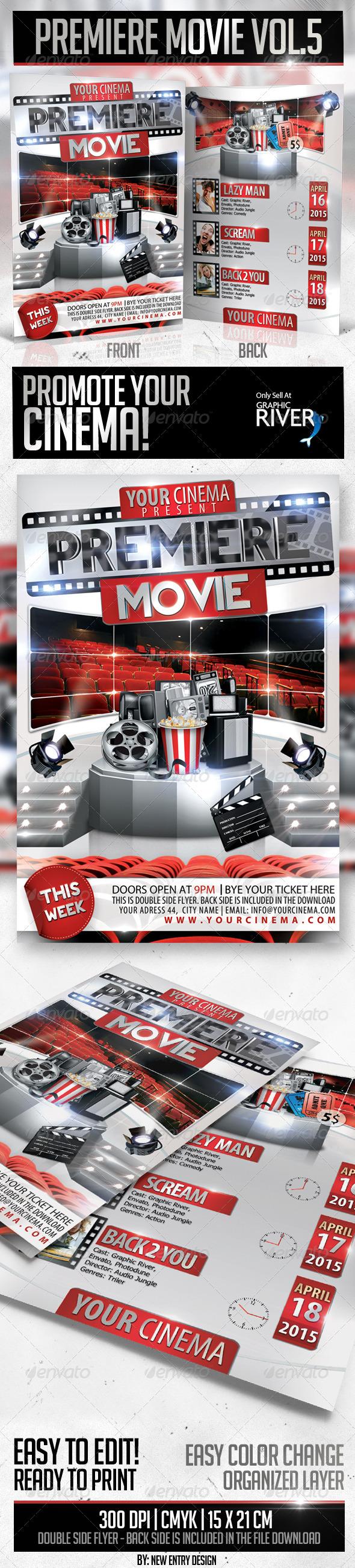 Premiere Movie Vol5 - Miscellaneous Events