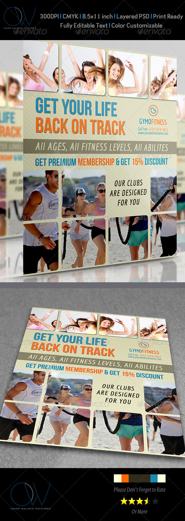 Fitness - GYM Flyer