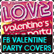 Valentine Day Party Fb Timeline Covers - GraphicRiver Item for Sale