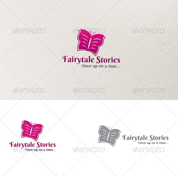 Fairytale Stories Logo - Animals Logo Templates