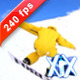 Snowboarder Jumps 240fps - VideoHive Item for Sale