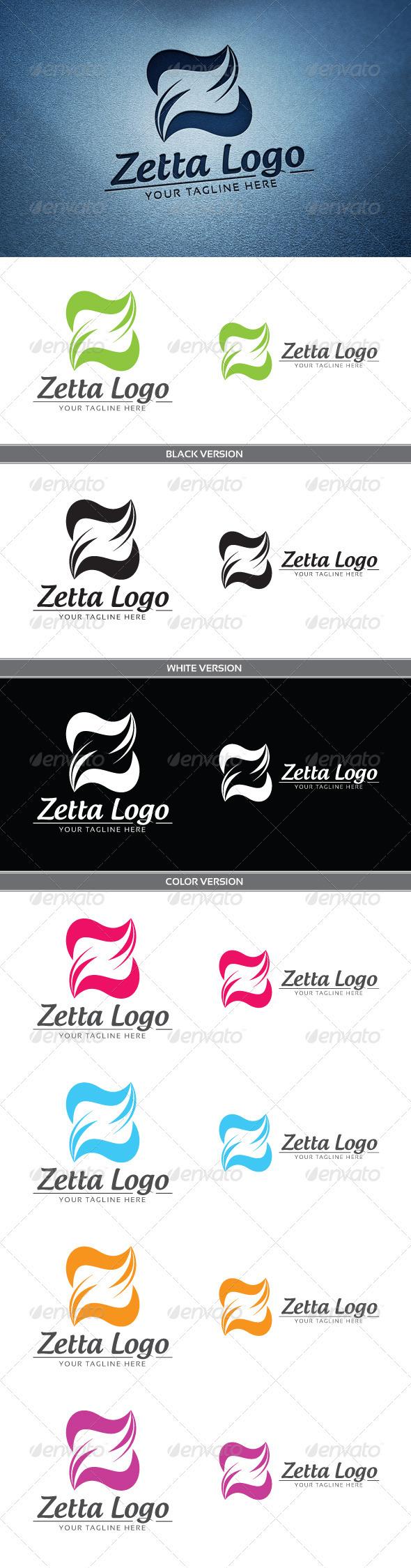 Zeta Logo - Letters Logo Templates