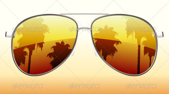 Sunglasses  - Travel Conceptual