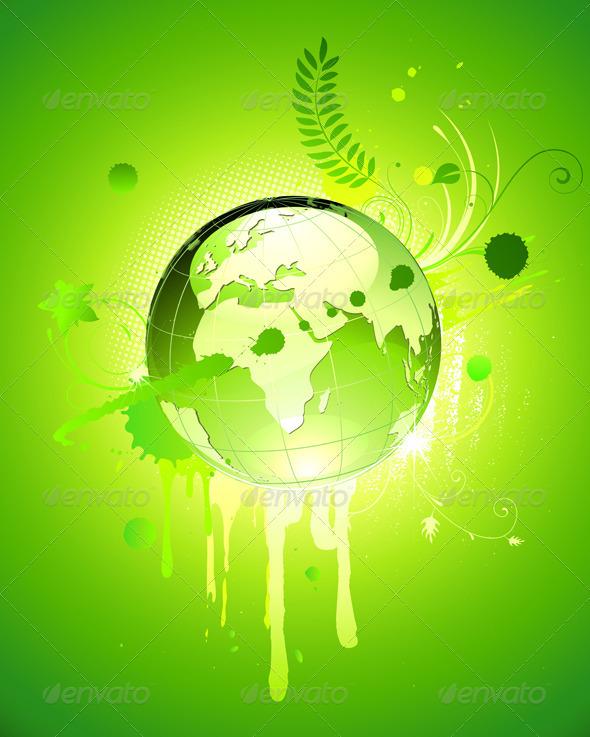 Eco Concept - Backgrounds Decorative