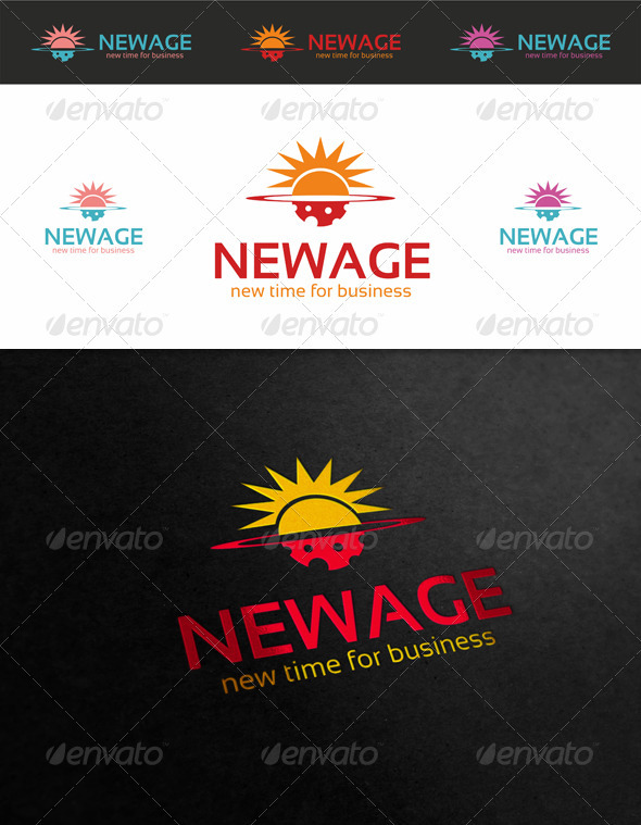 New Age Logo - Objects Logo Templates
