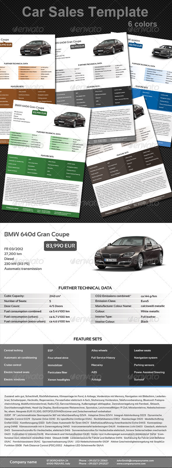 Sell Your Car - Commerce Flyers