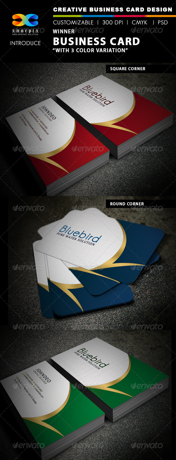 Winner Business Card - Corporate Business Cards