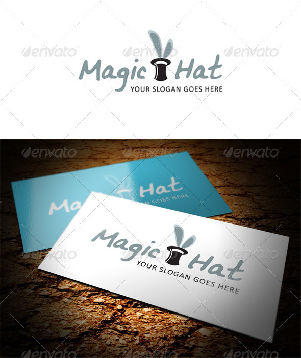 Magic Hat Logo - Objects Logo Templates