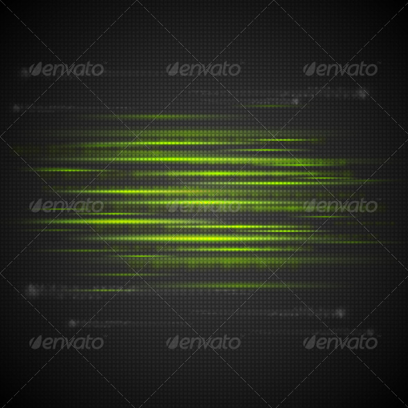 Shiny Green Abstract Stripes - Backgrounds Decorative