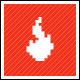 Flamin Pixels Logo Template - GraphicRiver Item for Sale