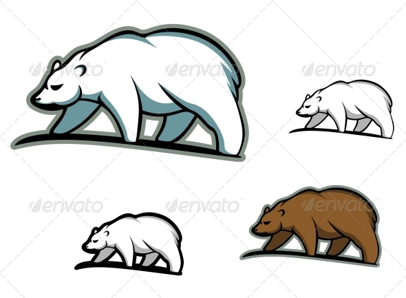 Arctic Bears - Animals Characters