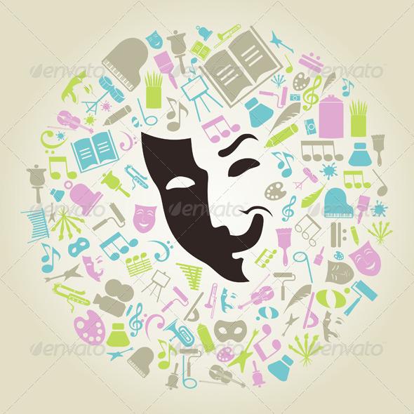 Art Mask - Miscellaneous Vectors