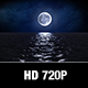 Moonlit Ocean Loop - VideoHive Item for Sale