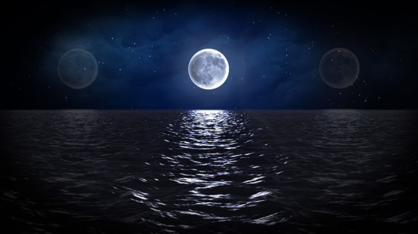 Moonlit Ocean Loop By Mysecretstudio Videohive