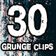 Grunge Clips Pack - VideoHive Item for Sale