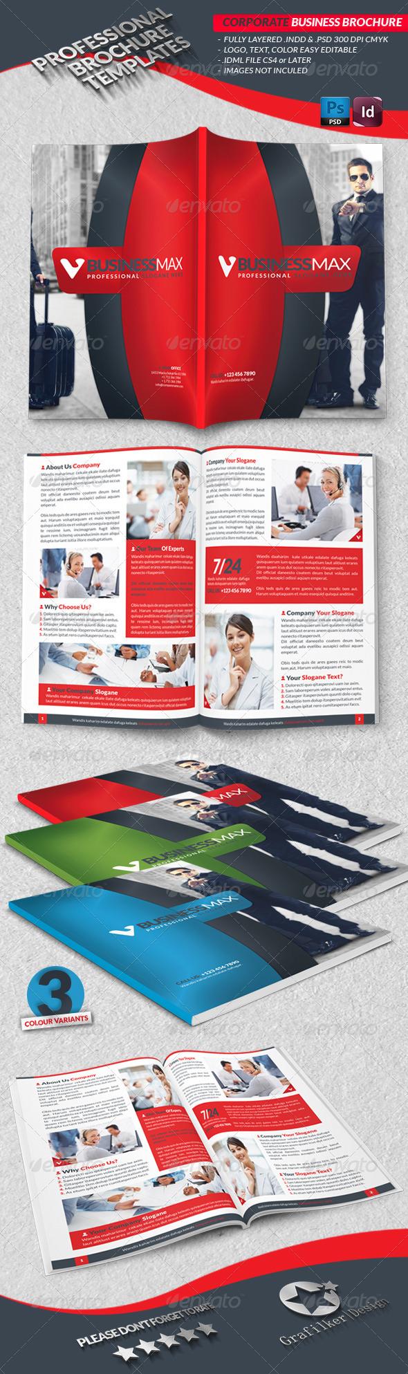 Corporate Business Brochure  - Brochures Print Templates