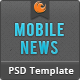 Mobile News PSD Nulled
