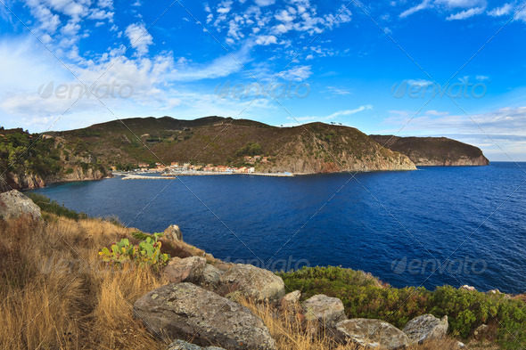 Capraia Island. - Stock Photo - Images