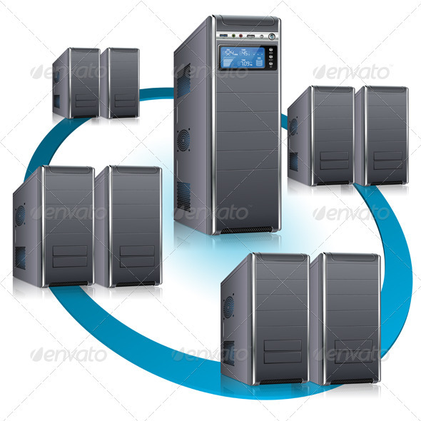 Network Concept - Computers Technology