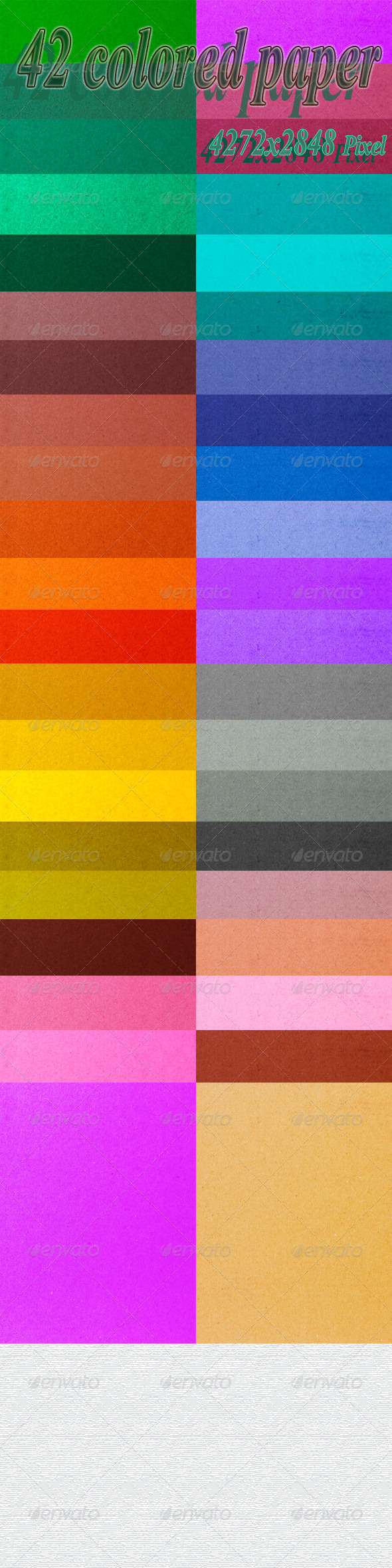 Colored Paper - Backgrounds Graphics