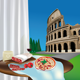 Colosseum and Roman Products - GraphicRiver Item for Sale