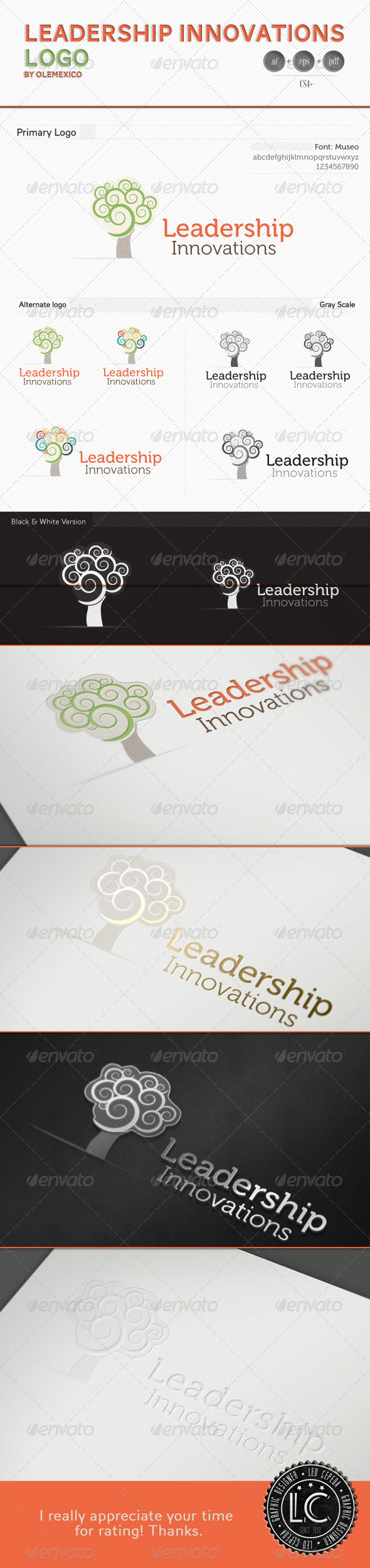 Logo - Leadership Innovation - Nature Logo Templates