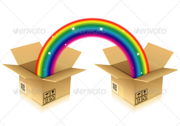 Rainbow from Box - Concepts Business