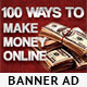Make Money Online Banner Ad Template - GraphicRiver Item for Sale
