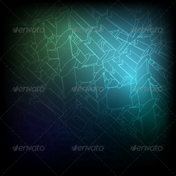 Blue Texture. Vector Background EPS10 - Backgrounds Decorative