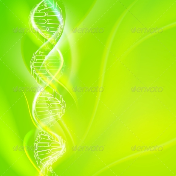 DNA Magic Figures. - Abstract Conceptual