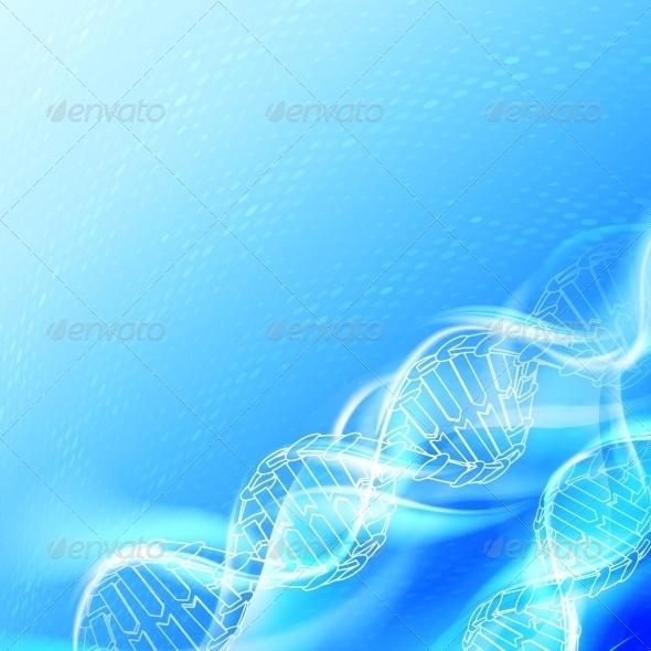 DNA Magic Figures. - Abstract Conceptual