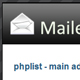PHPList Mailer - Sleek Administrator Interface