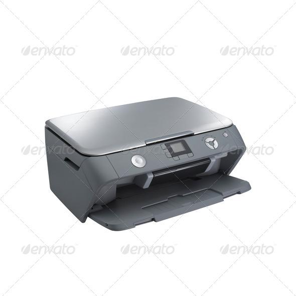 Laser printer - Stock Photo - Images