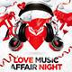 Love music flyer vol.2 - GraphicRiver Item for Sale