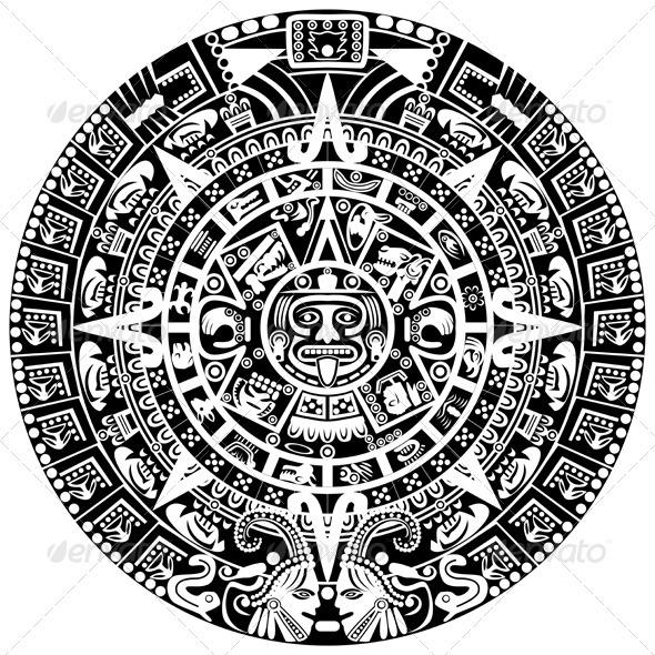 Mayan Calendar - Religion Conceptual