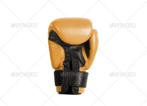 yellow glove box - Stock Photo - Images