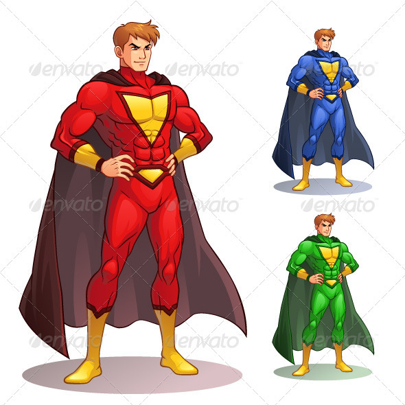 Superhero - People Characters