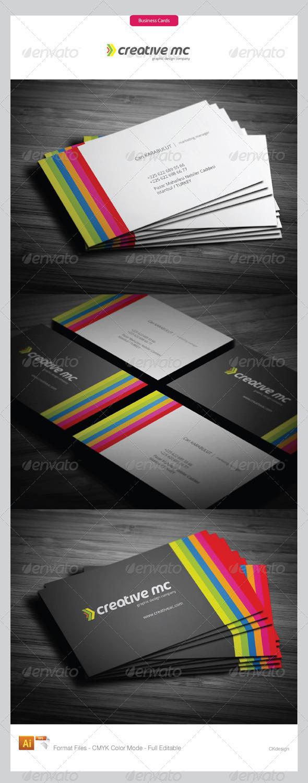 Corporate Business Cards 255 - Corporate Business Cards