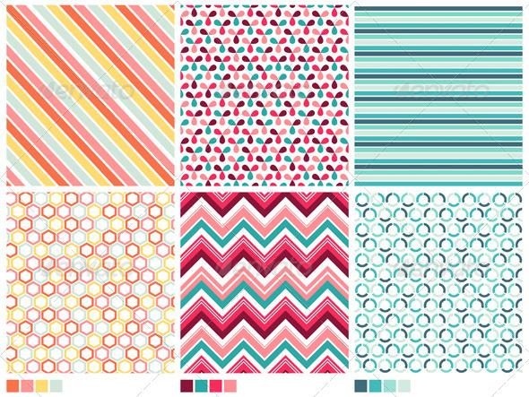 Geometric Seamless Patterns - Patterns Decorative