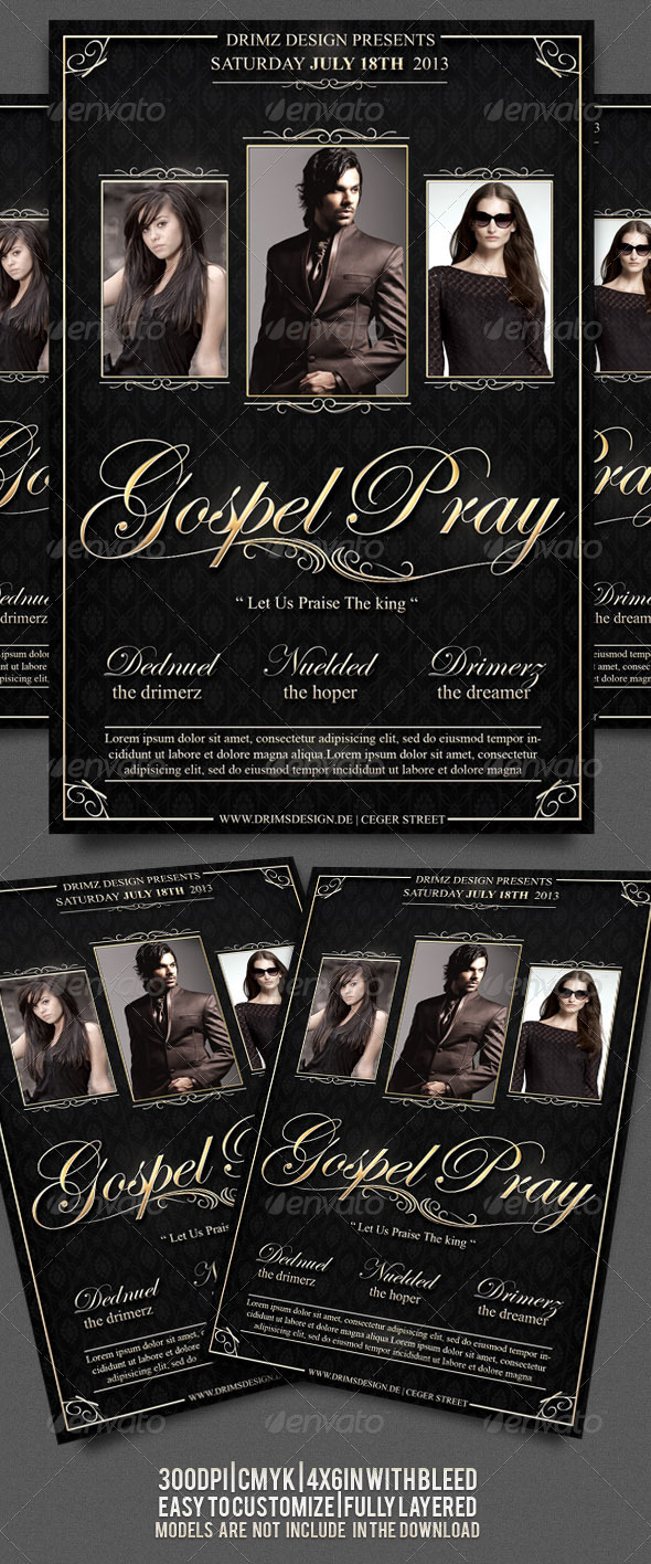 Gospel Flyer - Events Flyers
