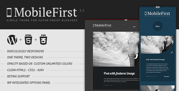 MobileFirst – WP Theme for Future-Proof Bloggers