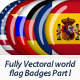 World Flags Part I - GraphicRiver Item for Sale