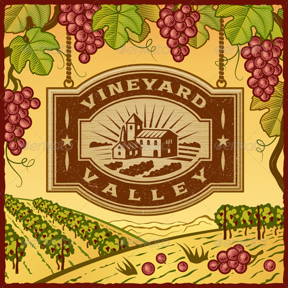 Vineyard Valley - Decorative Symbols Decorative