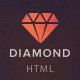 Diamond — HTML5 & CSS3 store template Nulled