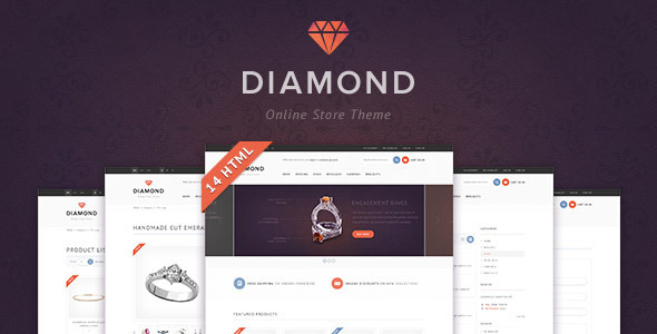 Diamond — HTML5 & CSS3 store template