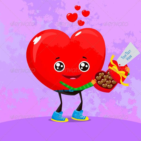Heart Mascot Pack